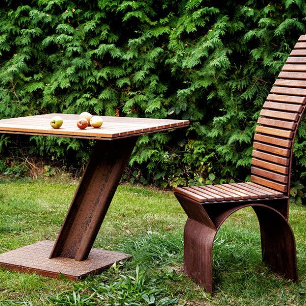 Tisch Und Stuhl Für Den Garten 2016 Refined Metalde